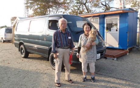 【ハイエースキャンピング わんこと一緒に長野県へ】