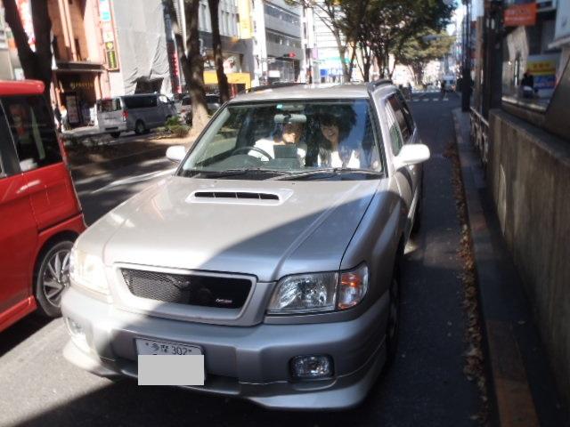 【フォレスター ターボ 5MT 多摩へ納車旅!! 151028】